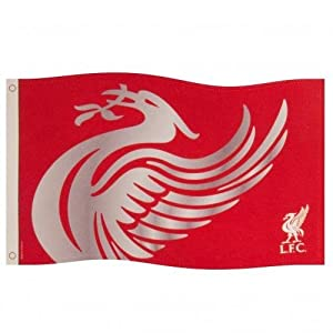 Official Liverpool FC Large Liverbird flag 152cm x91cm release by FOREVER COLLECTIBLES