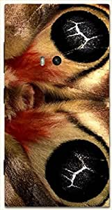Outstanding multicolor printed protective REBEL mobile back cover for Nokia Lumia 920 D.No.N-L-17621-N920
