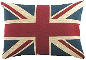 evans lichfield union jack traditional tapestry kissen 18 x 13 inch polyester fibre filled. Black Bedroom Furniture Sets. Home Design Ideas