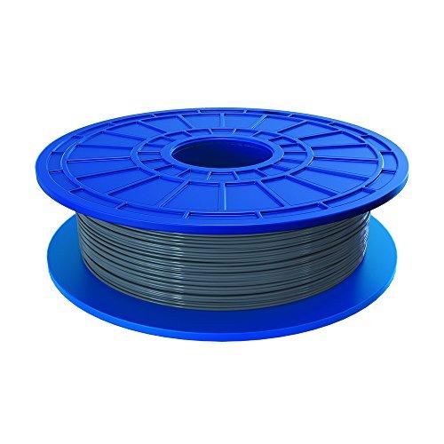 Dremel PLA Filament auf pflanzlicher Basis hergestellt, recyclebar, 1,75 mm, 3D Drucker, silber, 26153D50JA