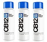CB12 250ML PACK DE 3 Menthe / Menthol Bain de bouche