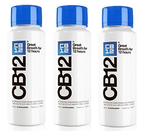 CB12 250ML 3ER-PACK Minze / Menthol Mundwasser