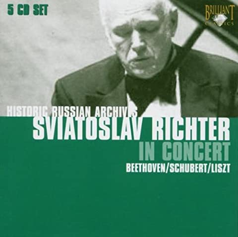 Sviatoslav Richter in Concert (Coffret 5 CD)