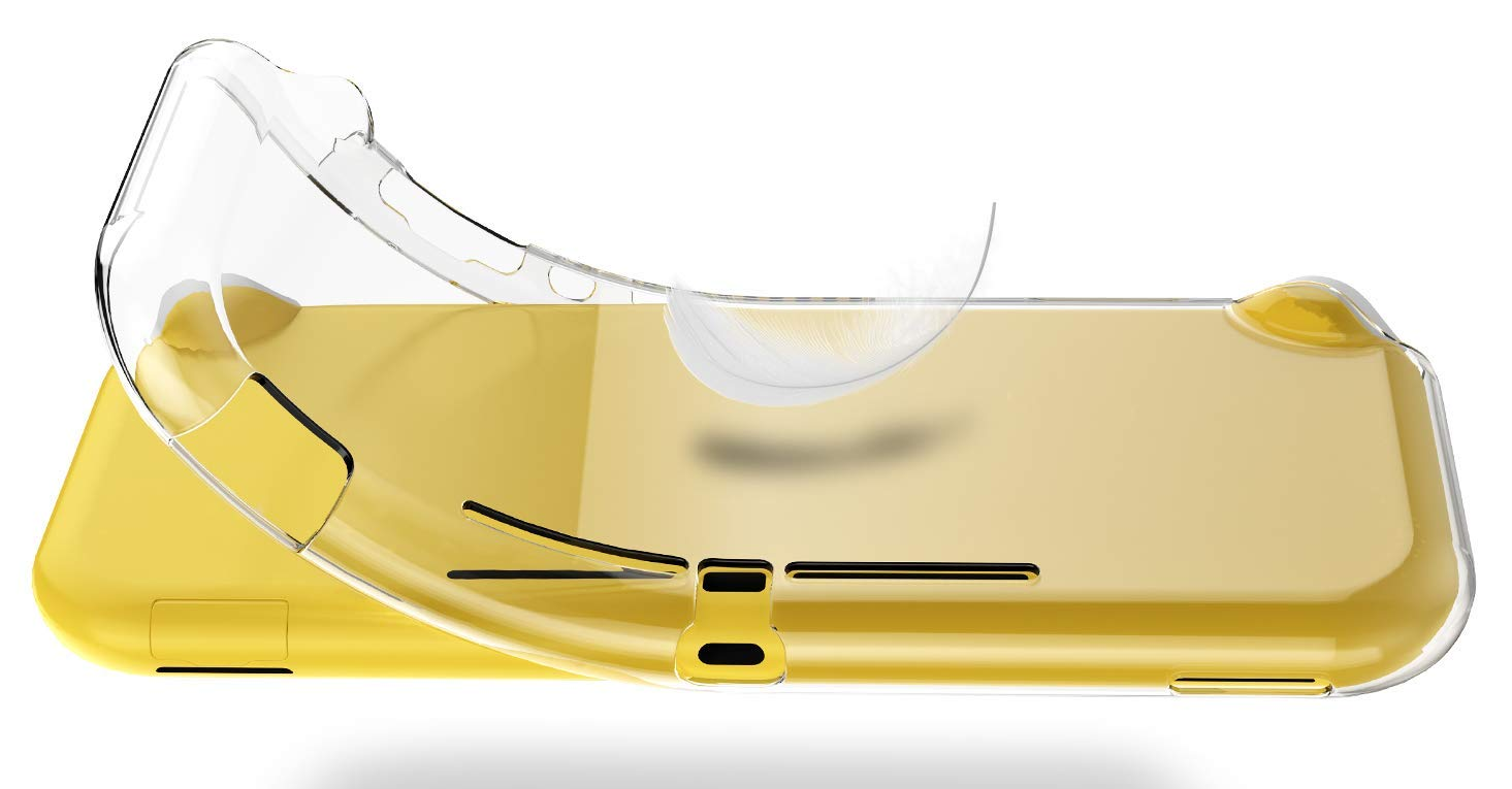 NUPO Coque pour Nintendo Switch Lite, Etui de Protection en Silicone TPU Souple [Ultra Fin] [Ultra Léger] pour Nintendo Switch Lite