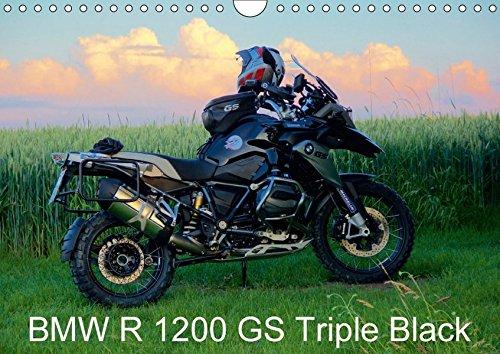 BMW R 1200 GS Triple Black (Wandkalender 2018 DIN A4 quer): Die BMW R 1200 GS Triple Black in Aktion. (Monatskalender, 14 Seiten ) (CALVENDO Mobilitaet) [Kalender] [Apr 13, 2017] Ascher, Johann