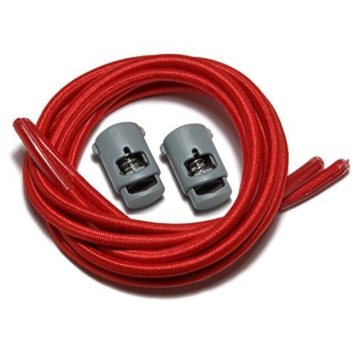Lacci iBungee Red per Speedlaces elastici scarpe 5pACCqw