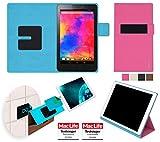 reboon Hülle für Acer Iconia One 8 (B1-810) Tasche Cover Case Bumper | in Pink | Testsieger