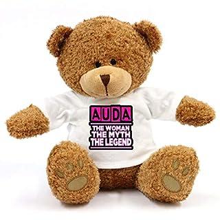 grabmybits Auda - The Woman, Myth, Legend Teddy Bear - Gift For Fun