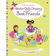 Sticker Dolly Dressing Best Friends