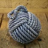 Cuerda náutica netproship~tope de puerta tope de la cuerda, azul, 15 cm