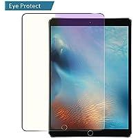 iPad Pro 10,5Protector de pantalla (2017), villstar HD Premium vidrio templado anti luz azul Tablet Protector de pantalla 9H Dureza anti-scratch, libre de burbujas, 2.5d Round Edge para iPad Pro 10,5pulgadas