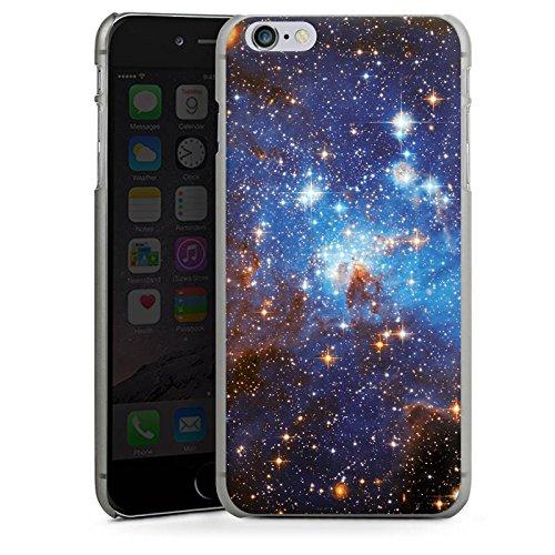Apple iPhone X Silikon Hülle Case Schutzhülle Space Galaxy Große Margellansche Wolke Hard Case anthrazit-klar