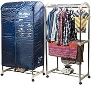 XSQUO Useful Tech Sèche-linge portable XXL, séchage par ventilation, 1200 W, capacité 30 kg, minuterie 180 min