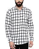 SPEAK Mens Cotton Casual Checks Shirt (B...