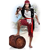 Boland 83845–adulti costume da pirata Jack,