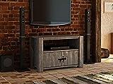 TV-Unterschrank Rustikal 17 massiv grau - Abmessung: 63 x 98 x 48 cm (H x B x T)