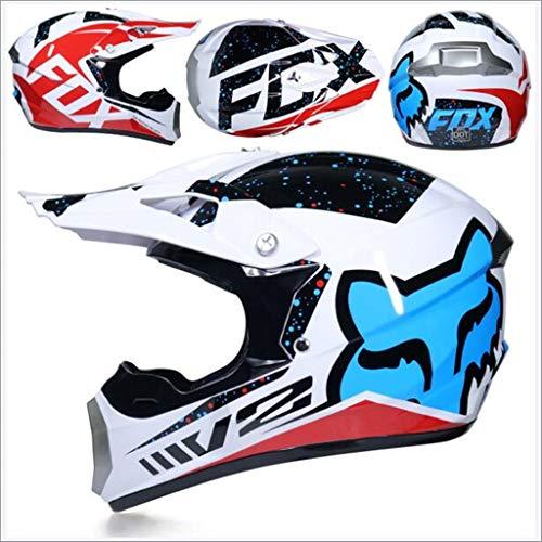 Motocross Off Road Casco Gafas regalo Máscaras Guantes