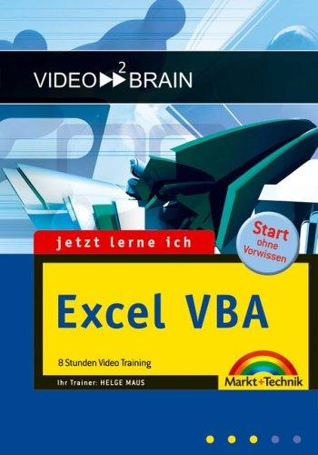 Excel VBA: 6,5 Stunden Video-Training auf DVD  - Start ohne Vorwissen
