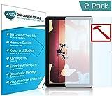 Slabo 2 x Premium Panzerglasfolie für Huawei MediaPad M5 Lite (10.1