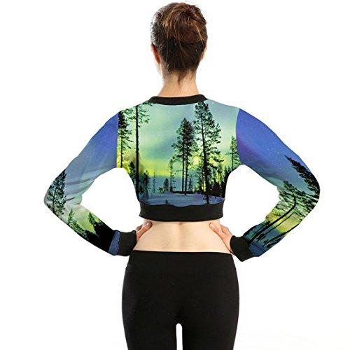 Belsen - Sweat-shirt - Femme Medium Forest scenery