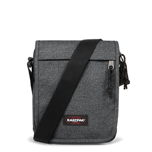 Eastpak Flex, Borsa A Tracolla Unisex, Grigio (Black Denim), 3.5 liters, Taglia Unica (23 centimeters)
