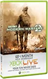 Xbox 360 - Xbox LIVE Gold 12+1 Monate - Modern Warfare 2 Design [UK Import]