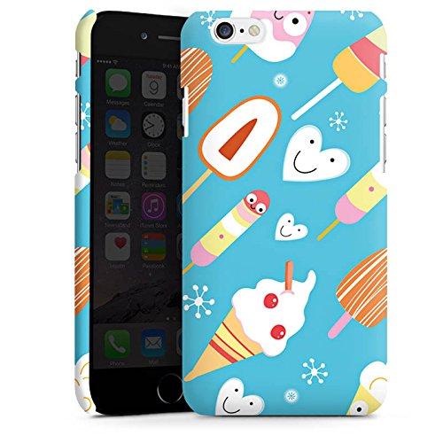 Apple iPhone 4s Silikon Hülle Case Schutzhülle Ice Cream Süßigkeiten Eis Premium Case matt