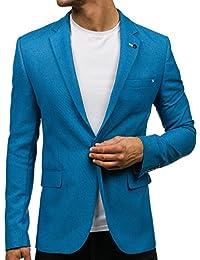 BOLF – Veste De Costume – Blazer – Slim fit – Casual – Motif – Homme [4D4]