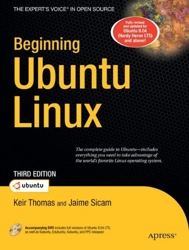 Beginning Ubuntu Linux: From Novice to Professional 3rd Edition Book/DVD Package