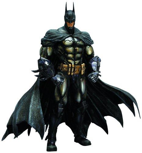 Figura de acción de Batman Arkham, diseño cuadrado de Enix Batman, Asilo: Play Arts Kai: Armored Batman