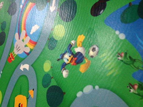Tappeto Morbido Per Bambini : Tappeto disney pvc gommoso topolino cameretta bambini