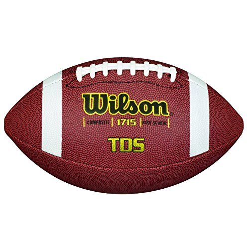 Wilson Traditional Composite American Football, Braun, Offizielle Größe