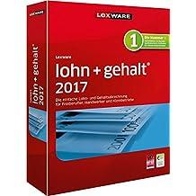 Lexware lohn+gehalt 2017 basis-Version Minibox (Jahreslizenz) / Einfache Lohn- & Gehaltsabrechnungs-Software für Freiberufler, Handwerker & Kleinbetriebe / Kompatibel mit Windows 7 oder aktueller