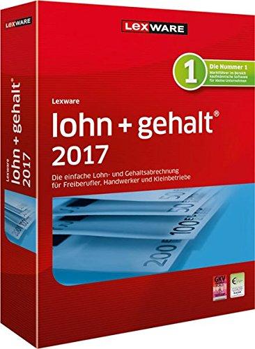 Lexware lohn+gehalt 2017 basis-Version Minibox (Jahreslizenz) / Einfache Lohn- & Gehaltsabrechnungs-Software für Freiberufler, Handwerker & Kleinbetriebe / Kompatibel mit Windows 7 oder aktueller Test