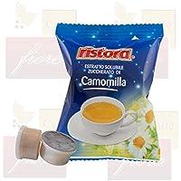Cialde Capsule Ristora CAMOMILLA Compatibili LAVAZZA Espresso Point - Confezione da 50 Capsule - Lavazza Espresso Point Capsula Macchina