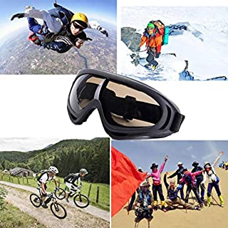 AFUT UV Protection Windproof Dustproof Outdoor Sports Ski Glasses Goggles Snowmobile Bicycle Motorcycle Safety Glasses Protective Goggles