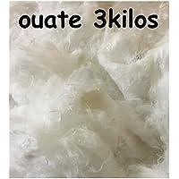 GoLoic 3 Kilos Ouate de Rembourrage, Blanc