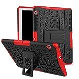 Skytar Funda para Huawei MediaPad T3 10,Hybrid Dura Layer Protección de Policarbonato Duro + TPU...