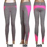 Fitdoo Yoga Pantalon Sport Pantalon Legging avac très colorés motif pour Femme Rose L&XL par DHL