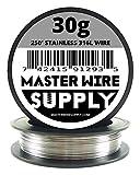 Acciaio inossidabile 316L - 250' - 30 gauge Wire