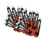 Teppichmesser 48 Stück Cuttermesser Paketmesser Abbrechmesser 18 mm