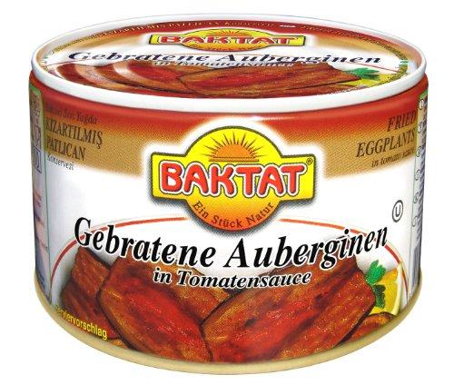 Baktat Gebratene Auberginen , 2er Pack (2 x 300 g Packung)