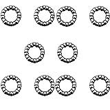 PPX Roulement à Billes boîte de Corps de Cage BMX 9 Boules 5/16'' en Acier de la Cage de vélo (1/4''x9)