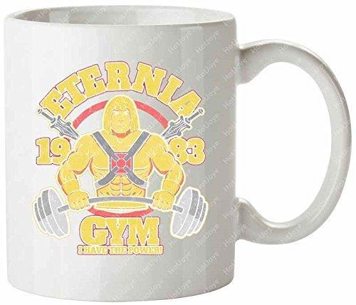 Eternia Gym Myah I Have The Power Eternia She Ra Snake Mountain Motu Skeletor He Man And The Masters Of The Universe Cool Mug(Tazzine da caffè) Tea Cup