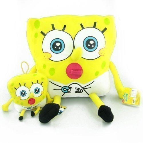 SpongeBob Schwammkopf Baby 11cm Plüschtier Kuscheltier Stofftier Figur Spielzeug