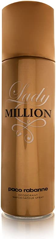 Paco Rabanne Lady Million Deodorant Spray, 150ml
