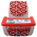 immagine prodotto Chicco 07079036300000 Rialzo Sedia, Mode Scarlet, 6 m+, Rosso