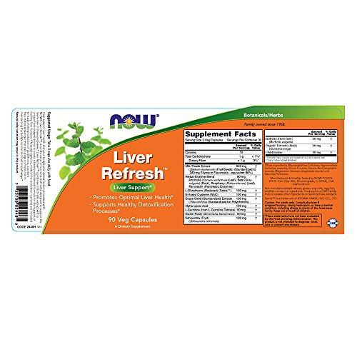 Now Foods, Leber Entgifter & Regenerator, 90 Kapseln