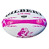 Gilbert G-TR3000 Rugby-Trainingsball, Camouflage, Pink