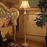 Stehlampe Stoff Harz 40 * 155 cm europäischen Wohnzimmer Schlafzimmer Studie warmen Retro Kunst Lichter Wohnzimmer (Farbe : Closed Months)